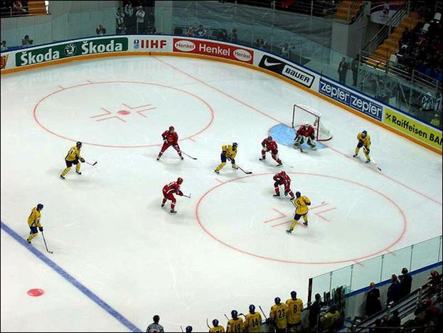Хоккейные борта: метод монолитного литья