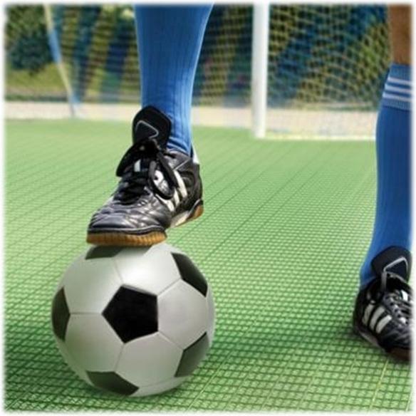 Пластиковое модульное покрытие для спорта